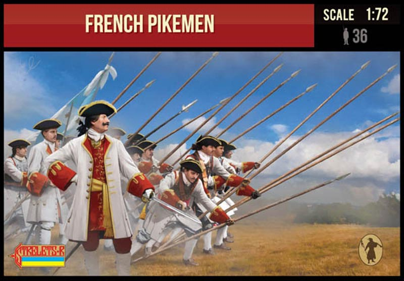 French Pikemen. War of Spanish Succession