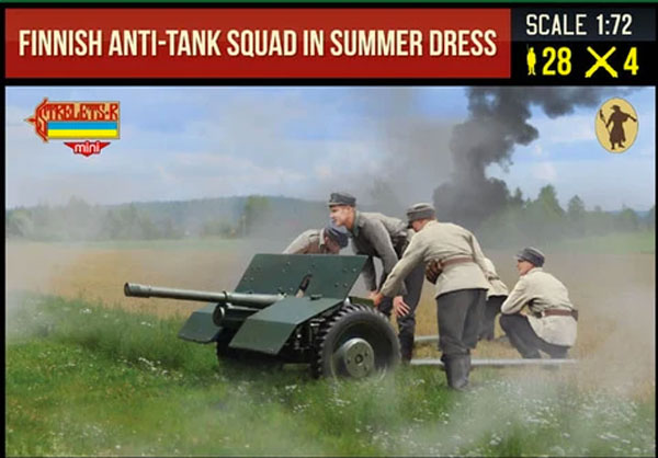 Finnish Anti-Tank Squad in Summer Dress