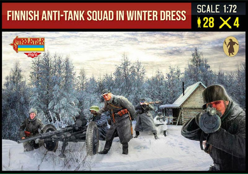 Finnish Anti-Tank Squad in Winter Dress