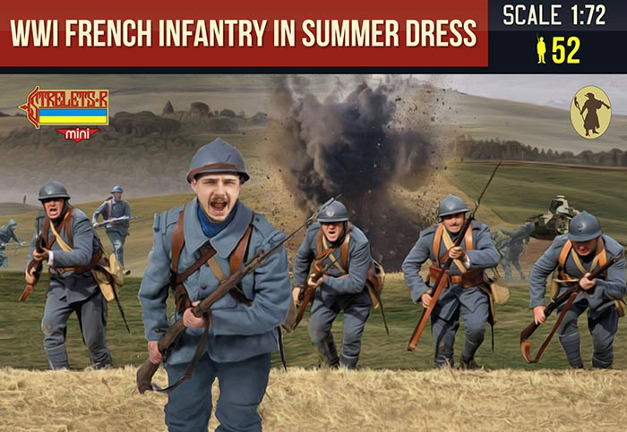 WWI French Infantry in Summer Dress