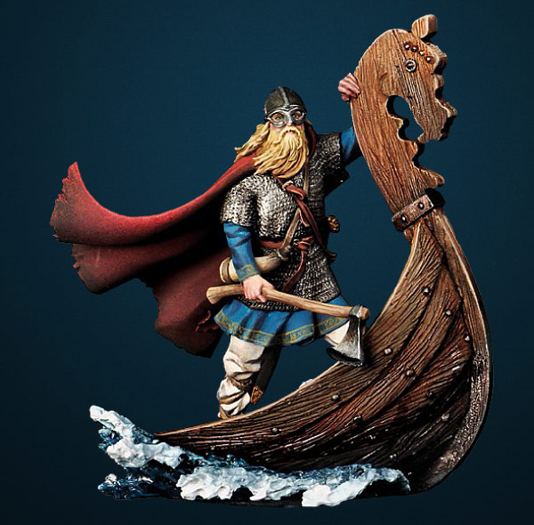 The Vikings: Drakkar Raider 750 AD