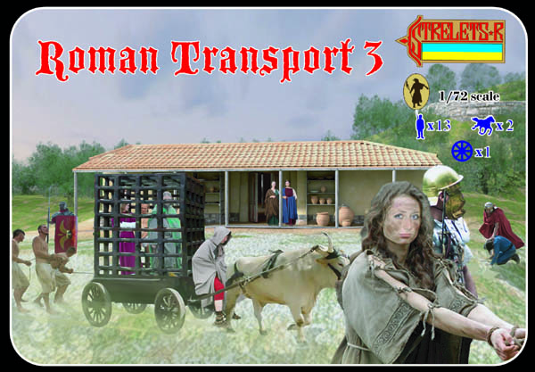 Strelets R - Roman Transport Set 3