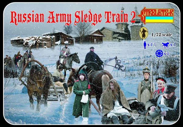 Strelets R - Russian Army Sledge Train Set 2