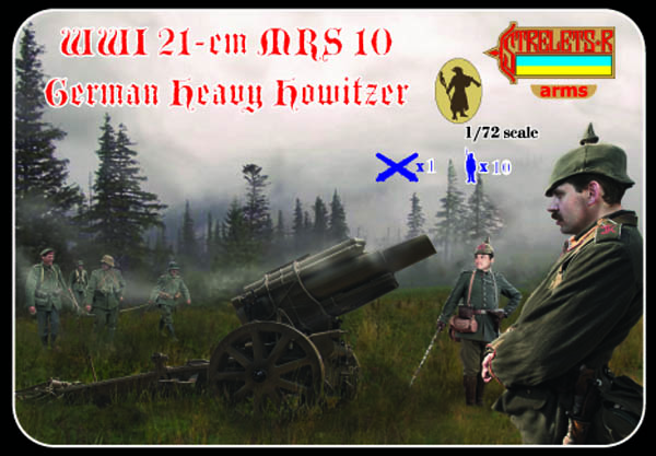 Strelets R - WWI 21-cm MRS 10 German Heavy Howitzer