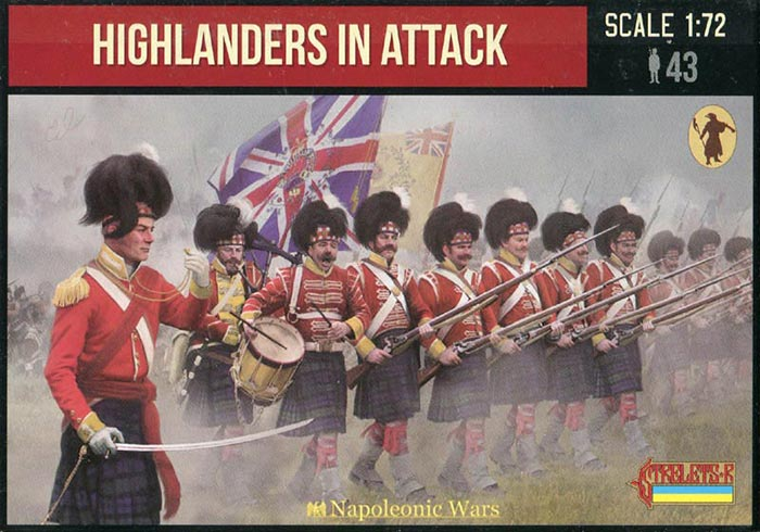 Napoleonic Highlanders in Attack