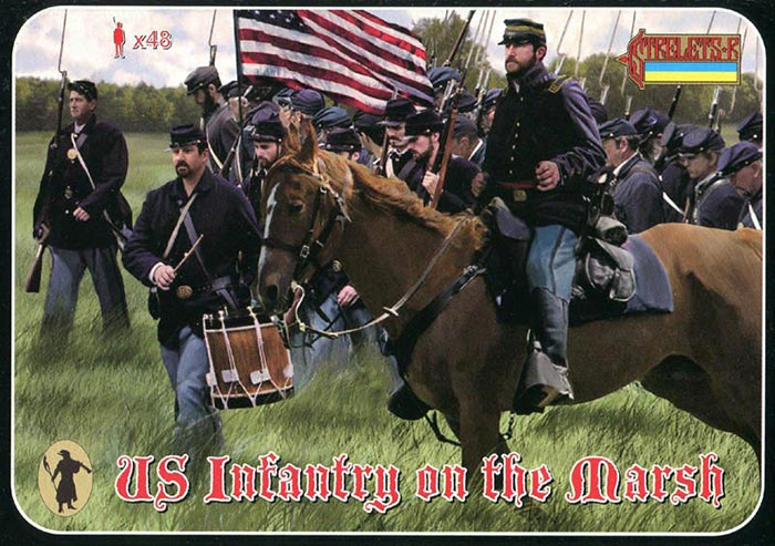 ACW US Infantry on the March