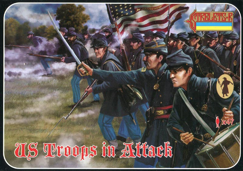 ACW US Infantry in Attack