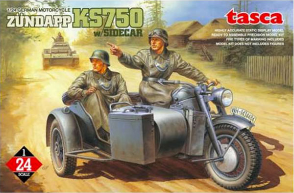 German Motorcycle Zundapp KS750 w/sidecar