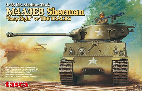 M4A3E8 Sherman Easy Eight with T66 Tracks