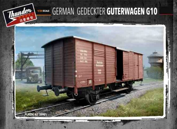 German G10 Boxcar WWII Era