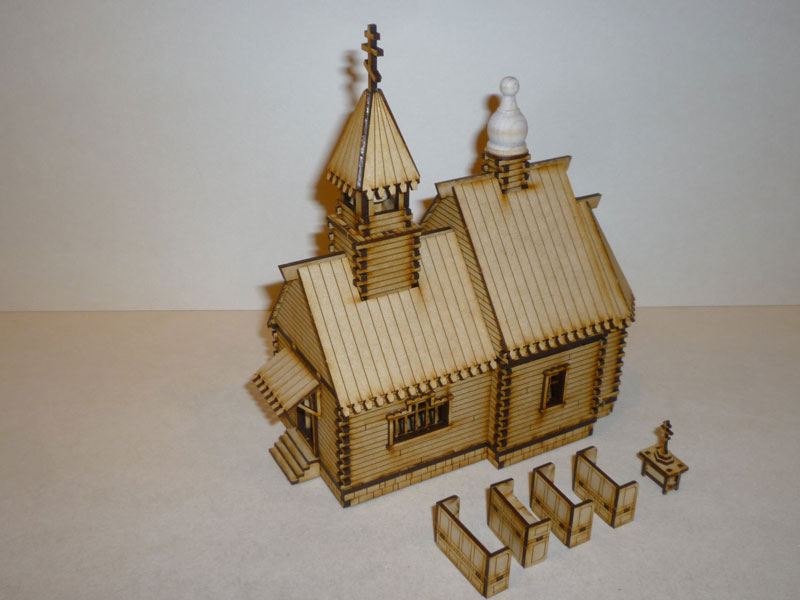 Eastern European Orthodox Church - 1/72nd scale MDF