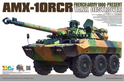 French AMX-10RCR Tank Destroyer