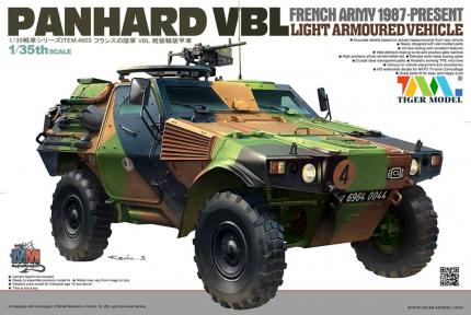 French Panhard VBL Recon Vehicle