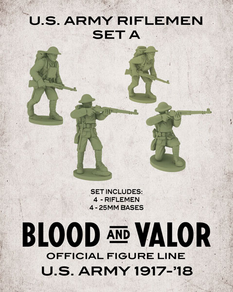Blood and Valor - US Army Rifleman Set A
