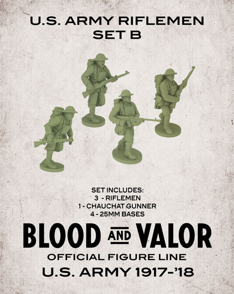Blood and Valor - US Army Rifleman Set B