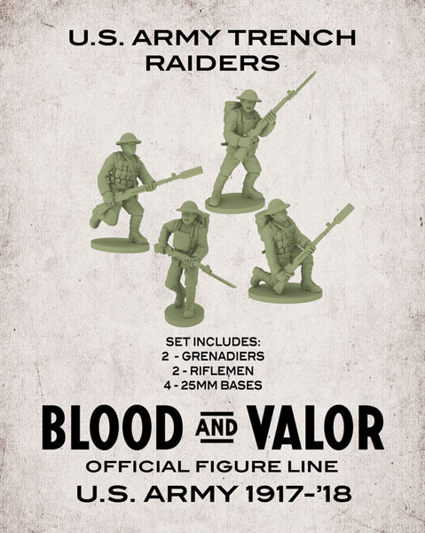 Blood and Valor - US Army Trench Raiders