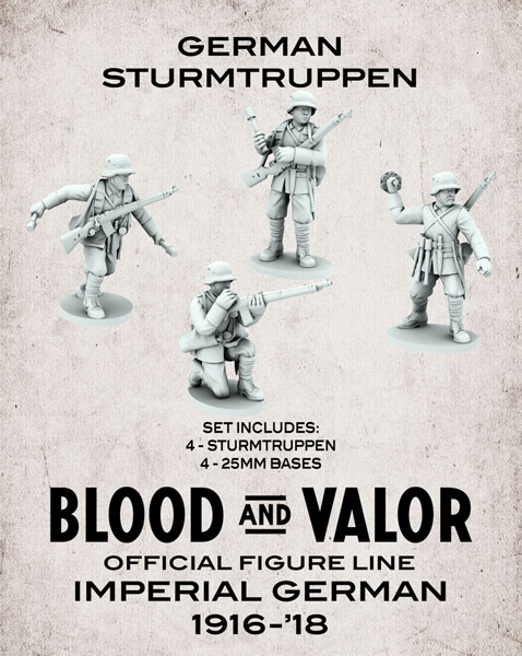 Blood and Valor - German Army Sturmtruppen