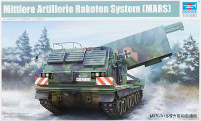 German M270/A1 Multiple Launch Rocket System