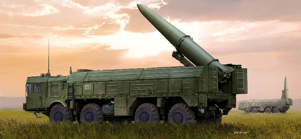 Russian 9P78-1 TEL for 9K720 Iskander-M Rocket Launch System (SS26)