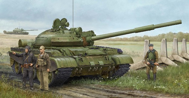 Russian T62 BDD Mod 1984 (Mod 1962 Modification) Tank