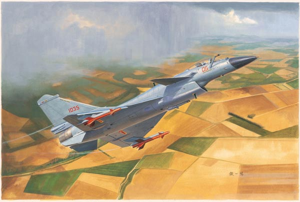 Chinese J-10B Fighter