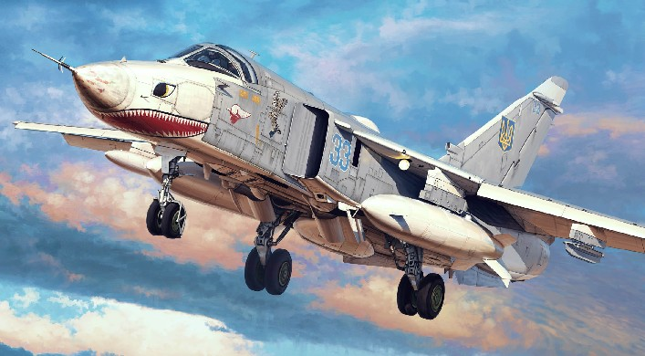 Su24MR Fencer E Attack Aircraft
