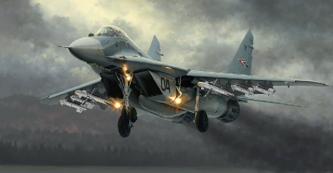 Mig29A Fulcrum Product 9.12 Russian Fighter
