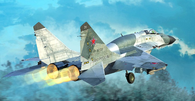 Mig29SMT Fulcrum 9.19 Russian Fighter