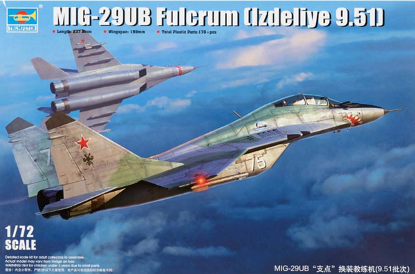 MiG29UB Fulcrum Product 9.51 Russian Fighter