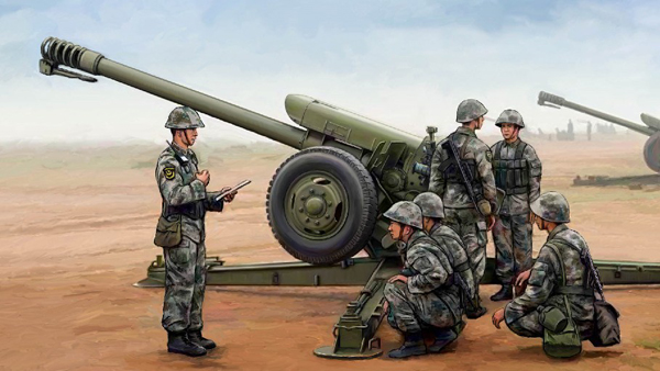 PLA Chinese PL96 122mm Howitzer