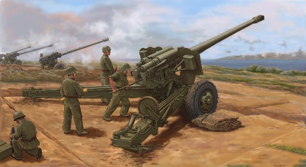 PLA Chinese Type 59 130mm Towed Field Gun (New Variant w/Newly Tooled Parts)