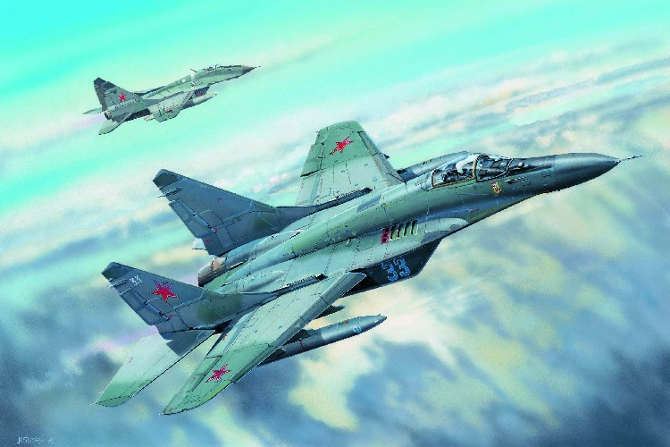 MiG29C Fulcrum Russian Fighter