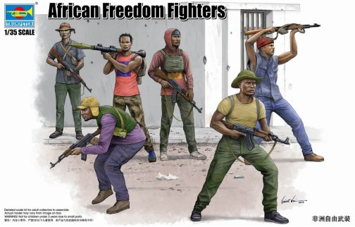 African Freedom Fighters Figure Set (6)