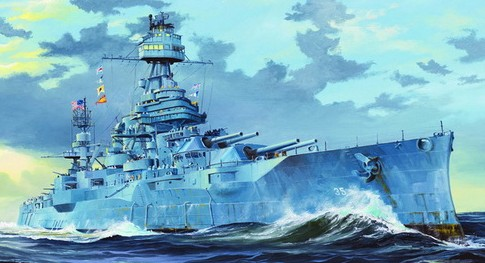 USS New Texas BB35 Battleship