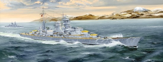 German Blucher Heavy Cruiser