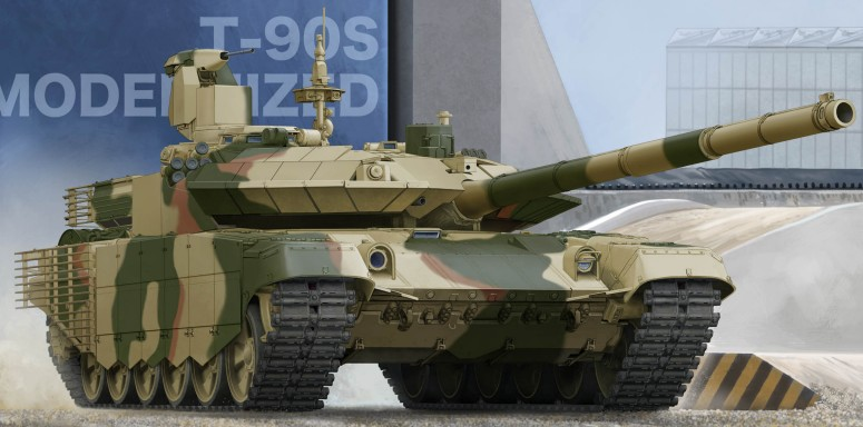 Russian T90S Modernized Main Battle Tank