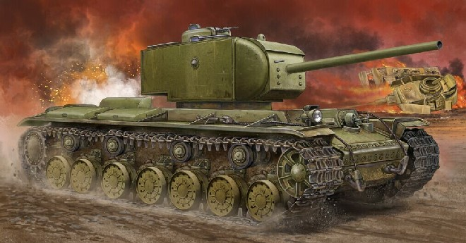 KV220 Russian Tiger Super Heavy Tank