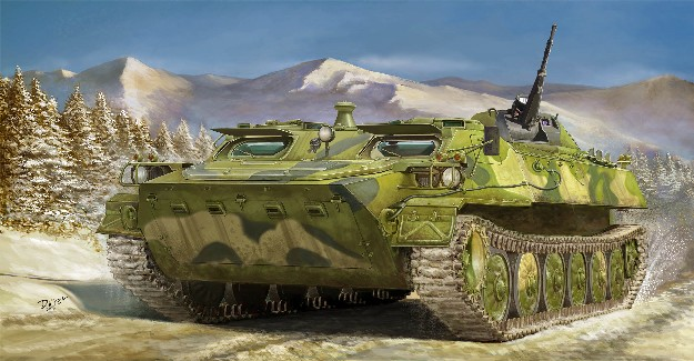 Soviet MT-LB (Medium Tactical) 6MA Multi-Purpose Tracked Vehicle (New Variant)