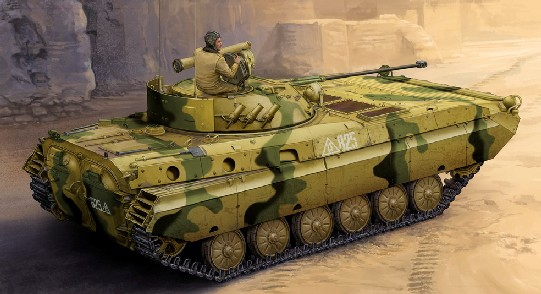 Russian BMP2D Infantry Fighting Vehicle