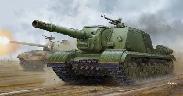 Soviet JSU152K Armored Self-Propelled Gun