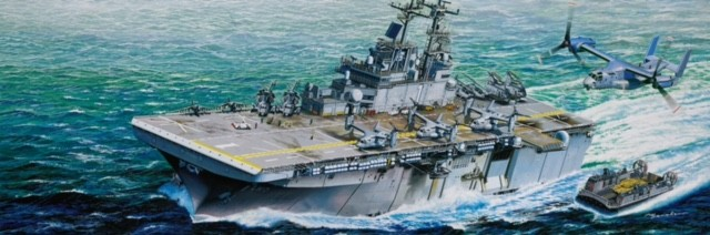 USS Wasp LHD1 Amphibious Assault Ship (Formerly Gallery Models)