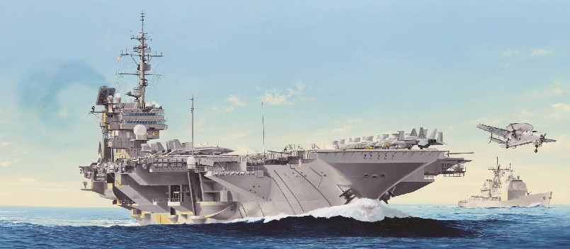 USS Constellation CV64 Aircraft Carrier (New Variant)