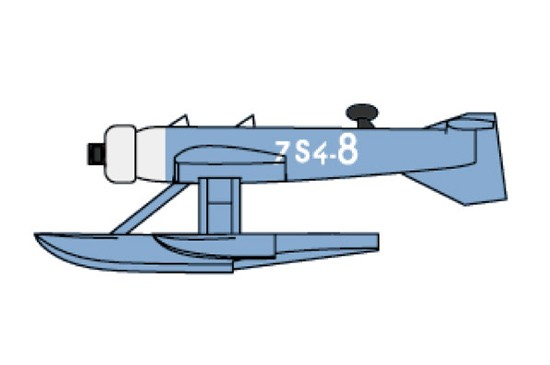 MB411 French Observation Seaplane Set (12/Bx)