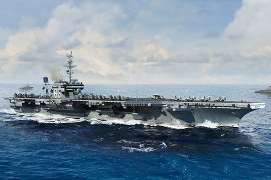 USS Kitty Hawk CV63 Aircraft Carrier