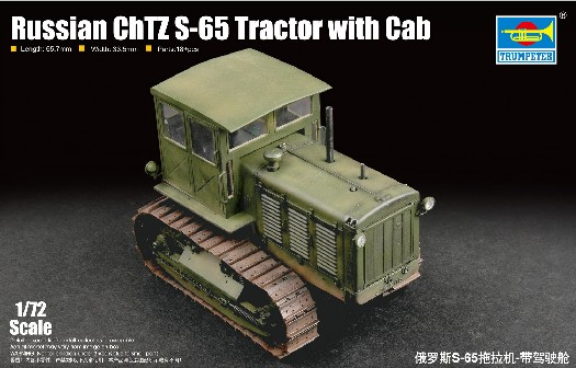 Russian ChTZ S65 Tractor w/Closed Cab