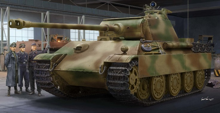 German Panther G Tank Late Version