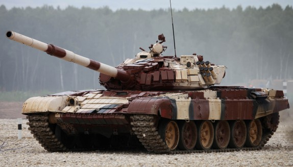 Russian T72B1 Main Battle Tank w/Kontakt-1 Reactive Armor