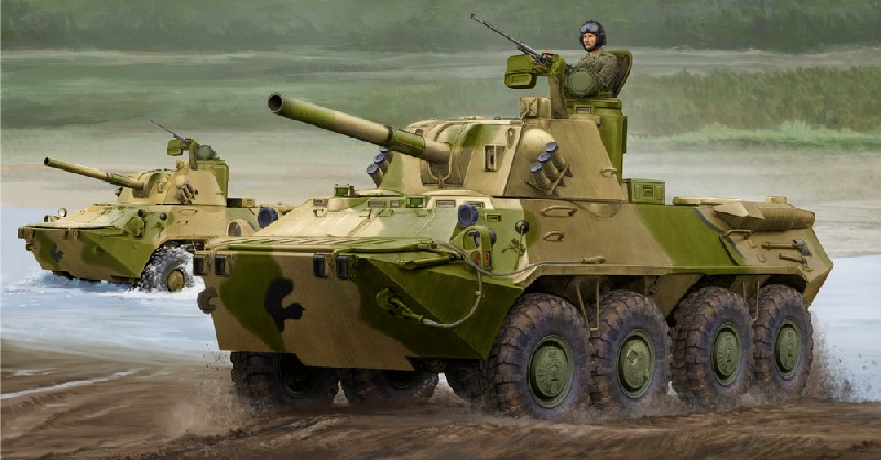 Russian 2S23 Nona-SVK Fire Support Vehicle w/Self-Propelled Mortar System