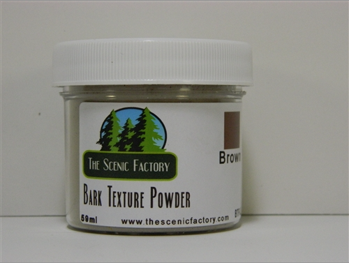 Bark Texture Powder - Brown - ONLY 1 AVAILABLE AT THIS PRICE