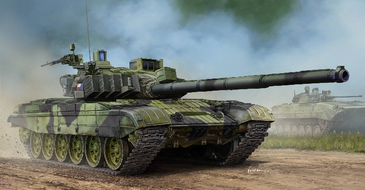 Czech T72M4CZ Main Battle Tank (New Variant)